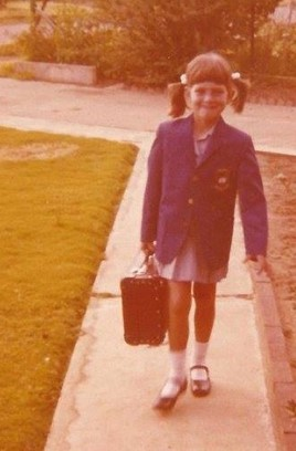 1st day of school, 6-yrs old
